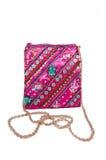 Kolorowa naramienna torba Fotografia Stock