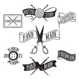 Handmade labels Royalty Free Stock Photos
