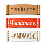 Handmade labels Royalty Free Stock Photo