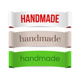 Handmade labels. Vector. Royalty Free Stock Photo