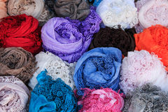 Handmade Lace of Burano Italy Royalty Free Stock Images