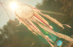 Handmade Lace Dream Catcher Stock Images