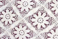 Handmade lace texture Royalty Free Stock Image