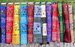 Handmade Lao rzemiosła fartuchy Od Luang Prabang obrazy stock