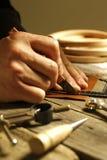 Handmade leather Stock Photography