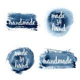 handmade Letras de encargo originales de la mano Foto de archivo