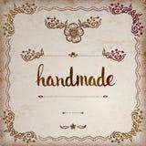 handmade Letras de encargo originales de la mano Fotografía de archivo
