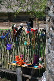Handmade linen тряпичная кукла Стоковая Фотография