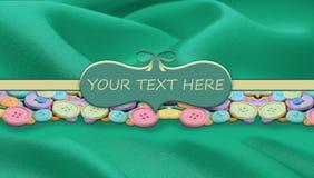 Handmade logo Stock Images