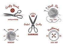 Handmade Logos Royalty Free Stock Image