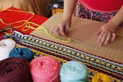Handmade loom Royalty Free Stock Photo