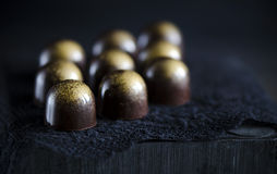 Handmade luxury chocolate Royalty Free Stock Photography