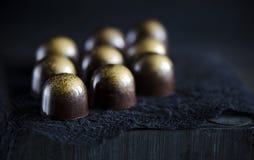 Handmade luxury chocolate Royalty Free Stock Photography
