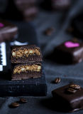 Handmade luxury chocolate Royalty Free Stock Image