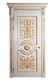 Handmade luxury door. Royalty Free Stock Photography