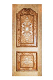 Handmade luxury door. Stock Image