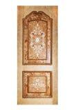 Handmade luxury door. Stock Image