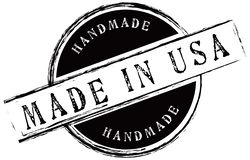 Handmade Made In USA Stock Image