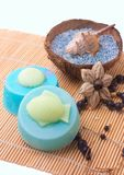 Handmade Marine soap with fish and shells Royalty Free Stock Image