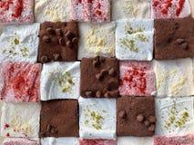 Handmade Marshmallow Assorted stock images