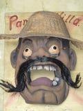 Handmade mask of Pancho Villa Stock Photos
