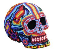 Handmade Mexican Calavera skull Royalty Free Stock Photos