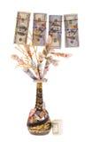 Handmade money tree Royalty Free Stock Photography