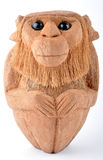 Handmade monkey. A monkey made by dry coconut Royalty Free Stock Images