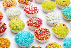 Handmade, lovely muffins Royalty Free Stock Images
