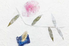 Handmade mulberry paper Royalty Free Stock Photos
