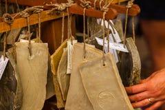 Handmade mydło w piękno sklepie w Provence Francja Fotografia Royalty Free