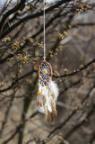 Handmade native american dream catcher  Stock Image