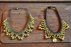 Handmade necklace Stock Images