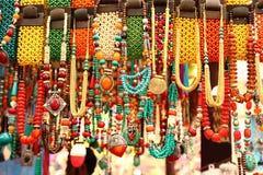 Handmade Necklaces royalty free stock photos