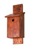 Handmade nest box  isolated on white background Royalty Free Stock Images