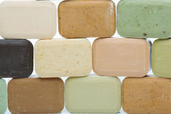 Handmade olive soap bars Stock Image