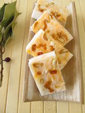 Handmade orange soap Stock Image