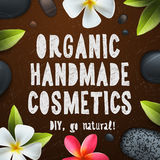 Handmade organic cosmetics Royalty Free Stock Photography