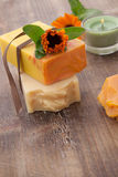 Handmade Organic Soap Royalty Free Stock Photo