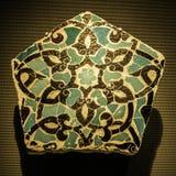 Handmade płytka przy muzeum Islamskie sztuki MIA W Doha capi Fotografia Stock