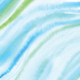 Handmade Painting watercolor blue sea, paper texture. Handmade Painting blue sea watercolor paper texture abstract background Stock Photography