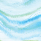 Handmade Painting watercolor blue sea, paper texture. Handmade Painting blue sea watercolor paper texture abstract background Stock Photos