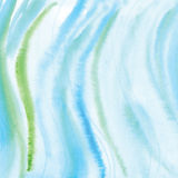 Handmade Painting watercolor blue sea, paper texture. Handmade Painting blue sea watercolor paper texture abstract background Royalty Free Stock Photography
