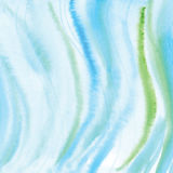 Handmade Painting watercolor blue sea, paper texture. Handmade Painting blue sea watercolor paper texture abstract background Stock Image