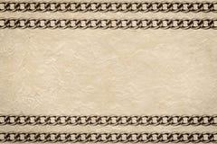 Handmade paper Stock Image