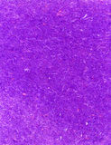 Handmade Paper. Purple handmade paper, textured with strands of multi-colored thread; excellent for backgrounds stock images