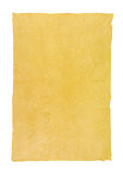 Handmade paper. With deckle edge Royalty Free Stock Photos
