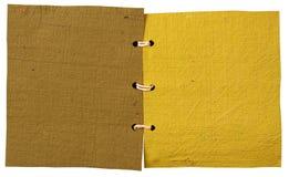 Handmade paper book Stock Photos