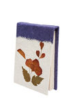 Handmade paper book Stock Images