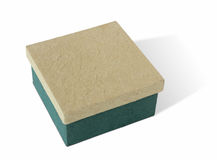 Handmade paper gift box Stock Photo